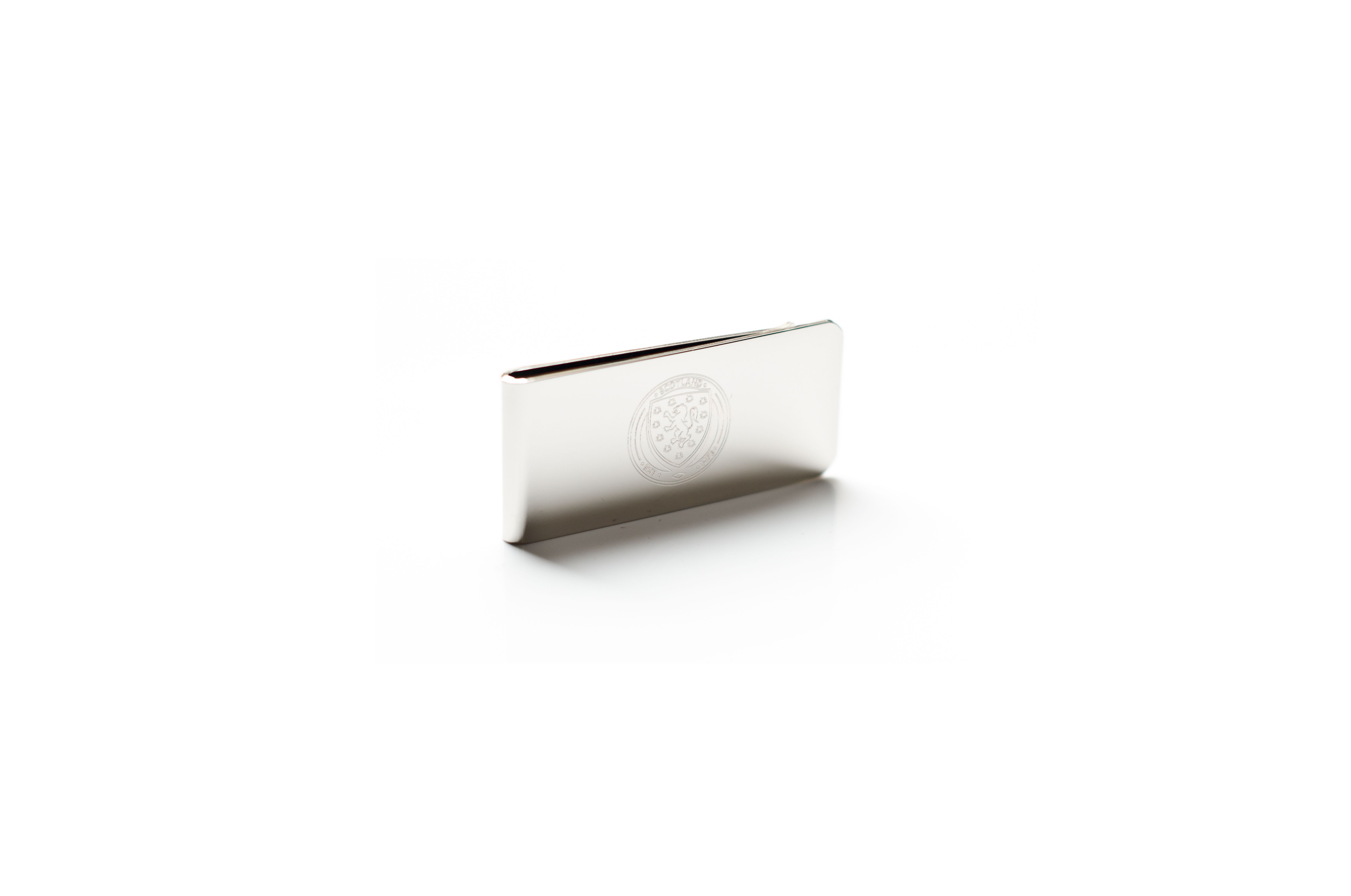 Scotland silver plated business card / season ticket holder. This ...