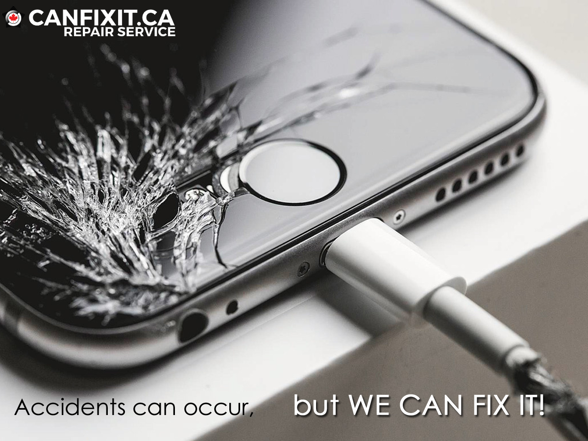Cracked your iPhone's screen by accidentally dropping it