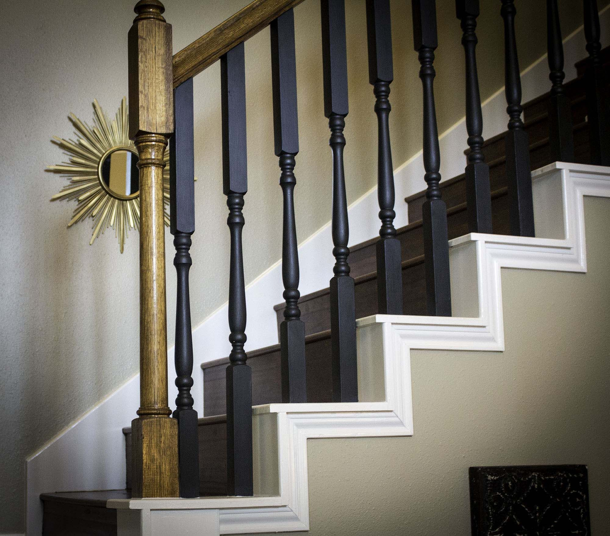 Updating A Stairway With Chalk Paint