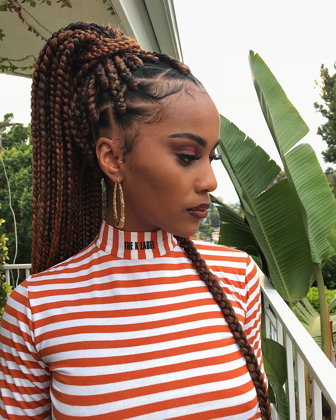 Nattes Avec Rajouts Cheveux Afro Cr 233 Pus Naturels