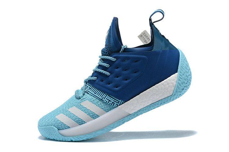 Discount Price Classic Adidas James Harden Vol 2 Low Sports Dark Blue Royal  Blue Shoe ed05ae4f9907