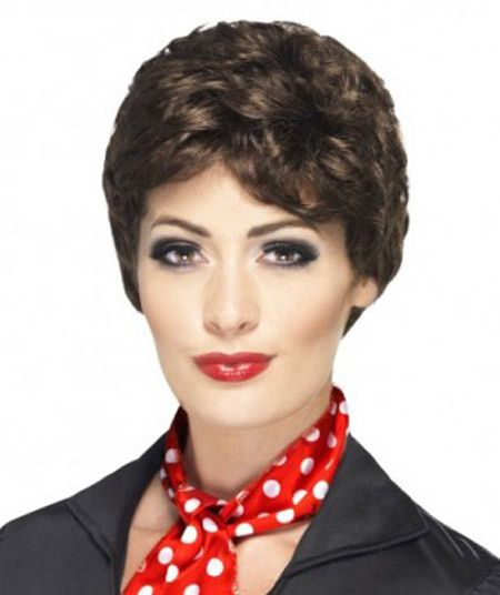 Rizzo Pink Ladies Grease Costume Wig Rizzo 90cd0c0ee