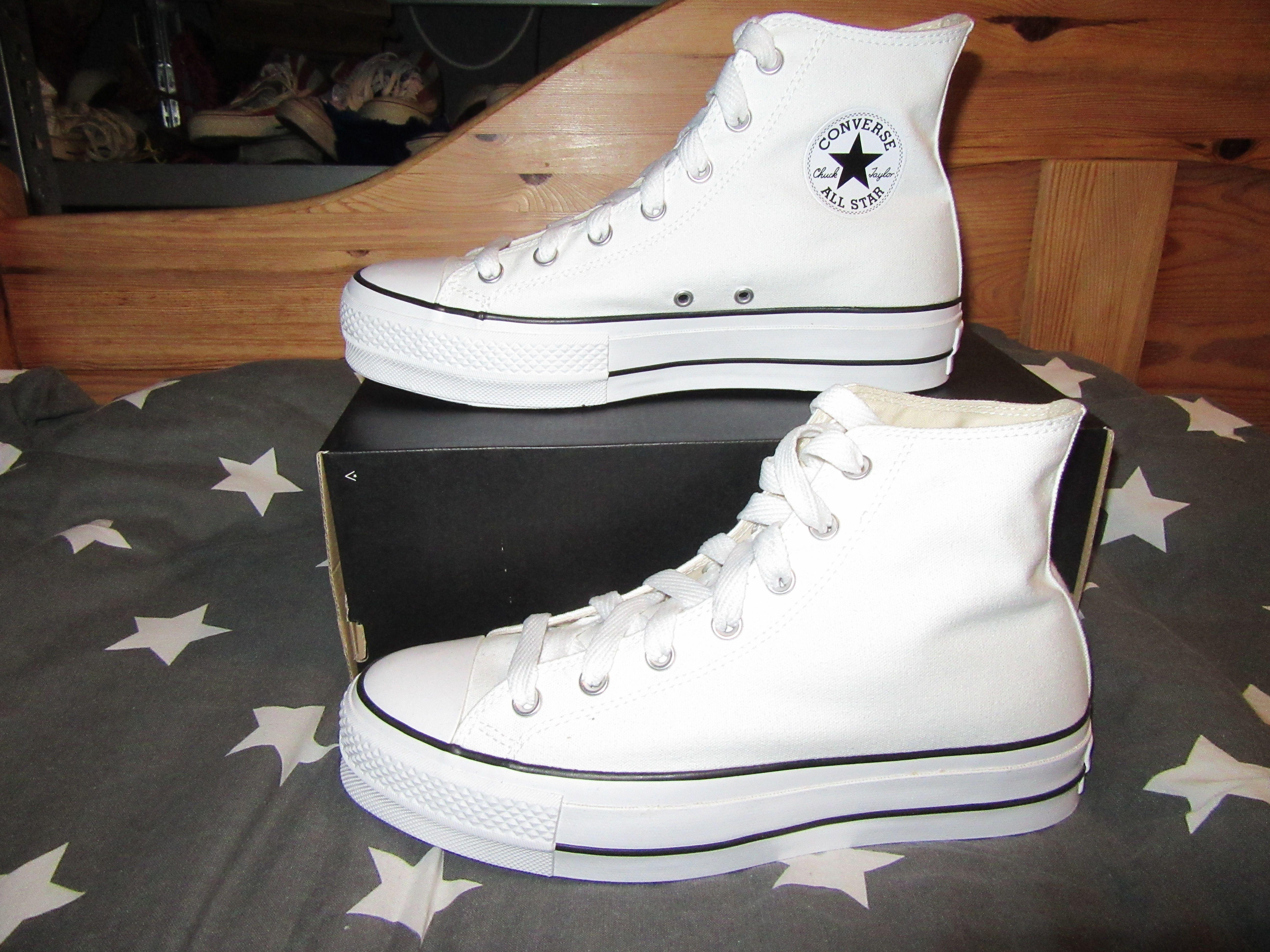 Converse All Star Lift White 560846C