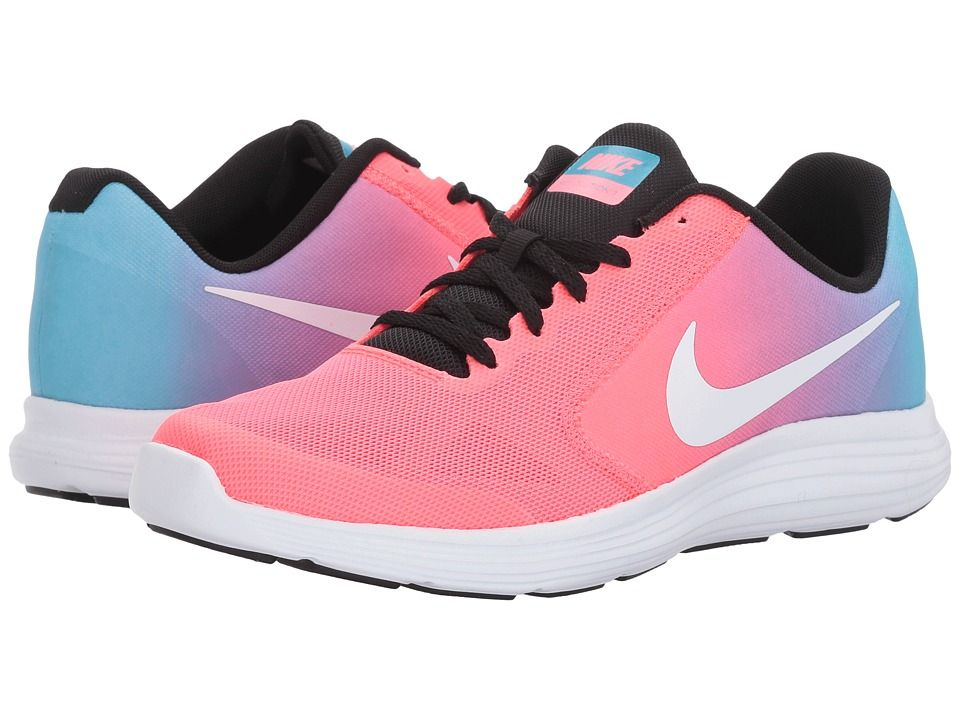 9e1ddf2ba3a Nike Kids Revolution 3 (Big Kid) Girls Shoes | Products | Nike kids ...