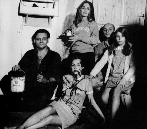 Behind the scenes of Night of the Living Dead (1968).