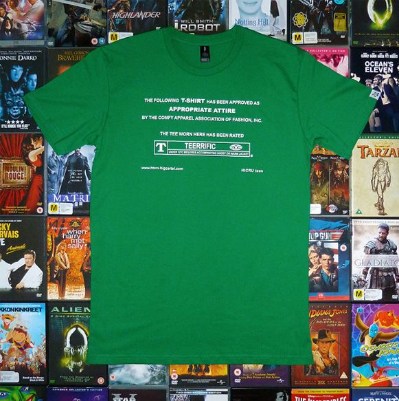 camiseta para cinéfilos