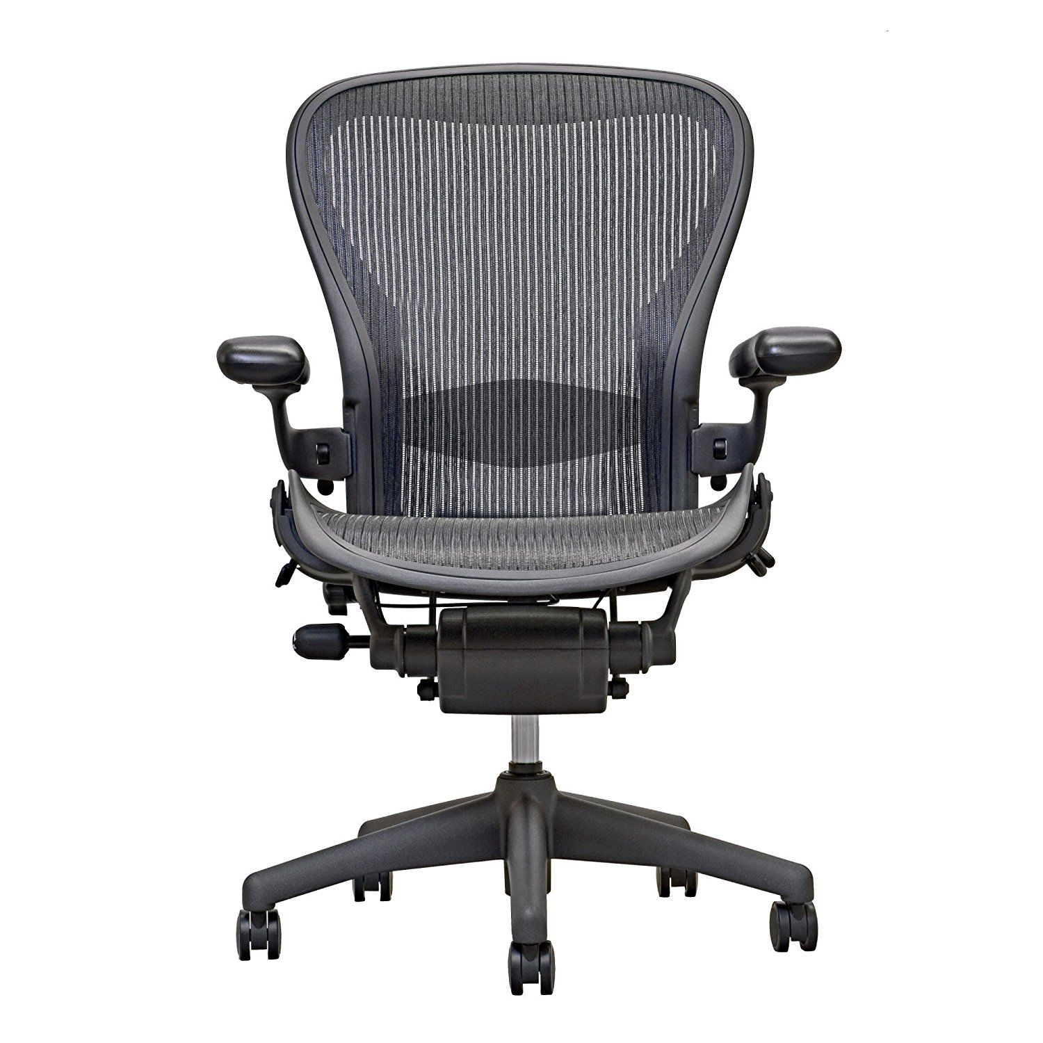 6752a3a8ae76 Amazon.com  Herman Miller Aeron Chair -Open Box -Size B Fully Loaded -  Hardwood Floor Caster  Kitchen   Dining