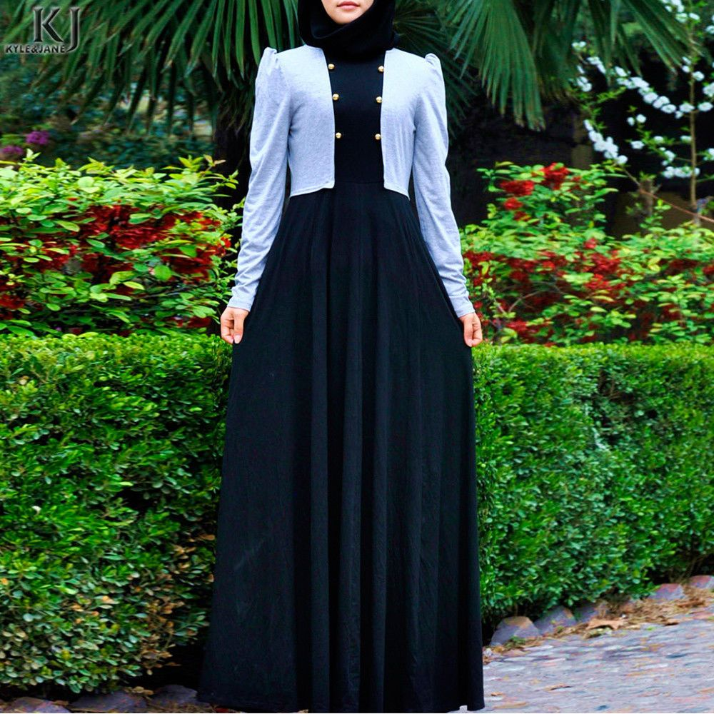 Lace umbrella abaya  New Fashion Umbrella Cut Jilbab Muslimah Dubai Eid Abaya  Places to