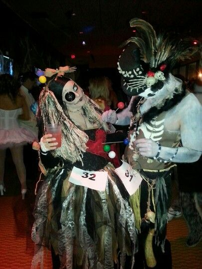 Voodoo priest and voodoo doll | Halloween costumes (me and