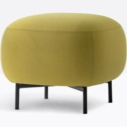 Photo of Pedrali Buddy 211 stool brass fabric category G (specify color in comment field) PedraliPed