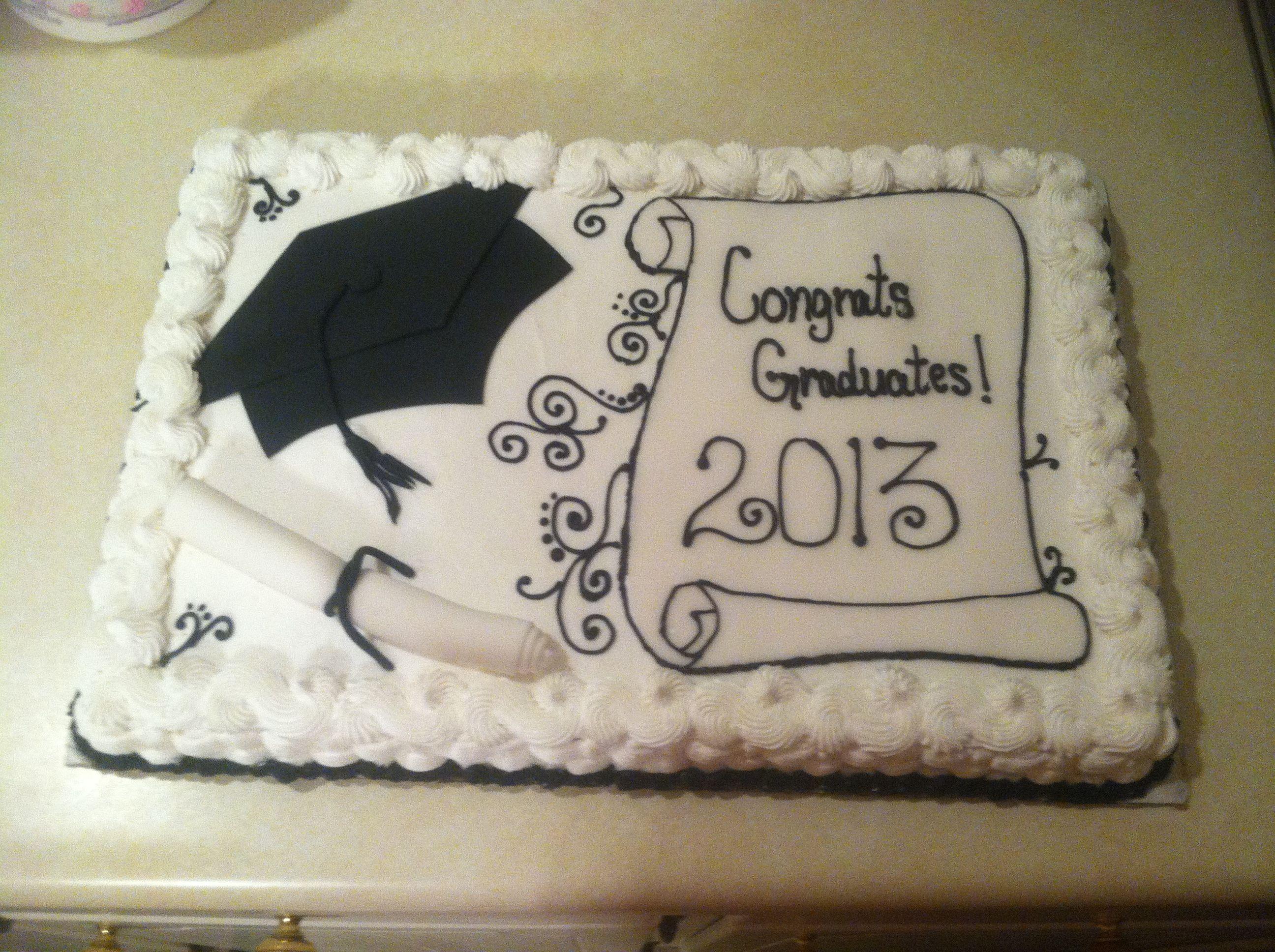 Graduation Sheet Cakes Graduation Shee...