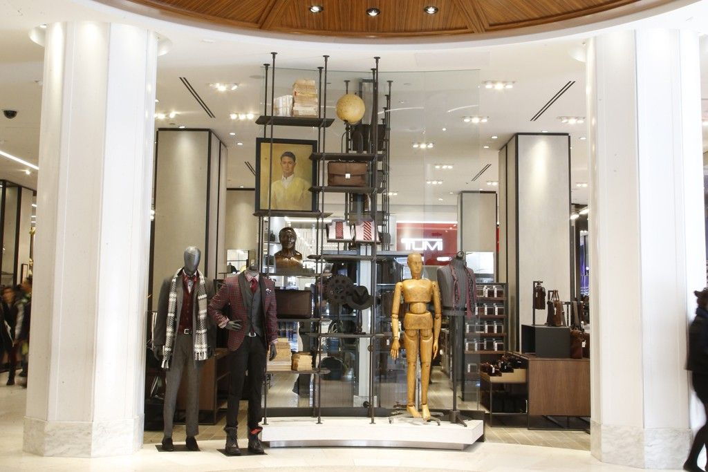 270858fc9 Expanded and updated men s section in Macy s Herald Square store.