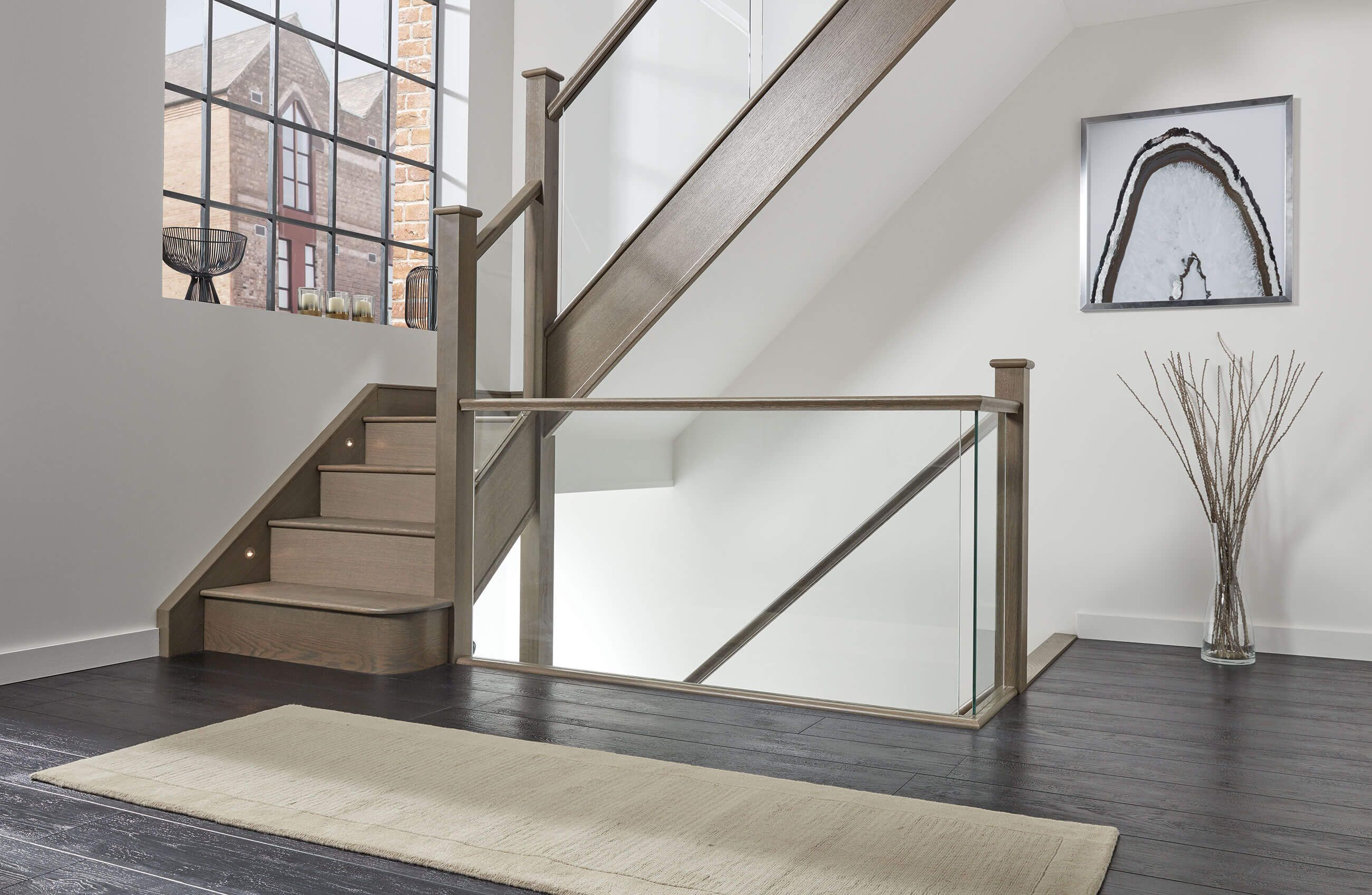 Best Double Winder Staircase With Images Glass Staircase 400 x 300