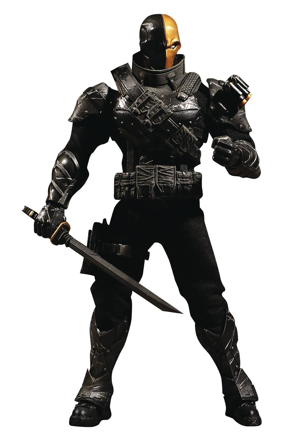 DC Mezco PX Previews Exclusive Deathstroke Stealth One:12 Scale Action Figure