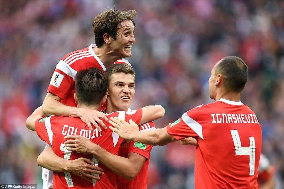 Russia 5 0 Saudi Arabia World Cup Hosts Off To Dream Start With Win World Cup Russia Fifa World Cup