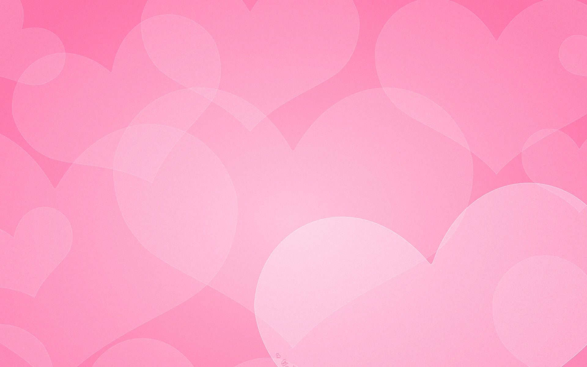 Wallpaper With Hearts