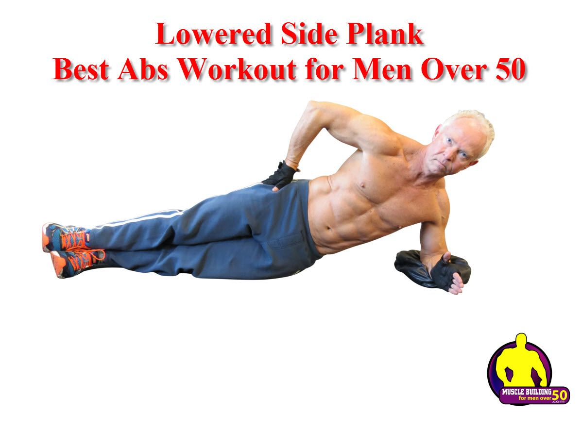 Women love a sixpack on a man the side plank is perfect