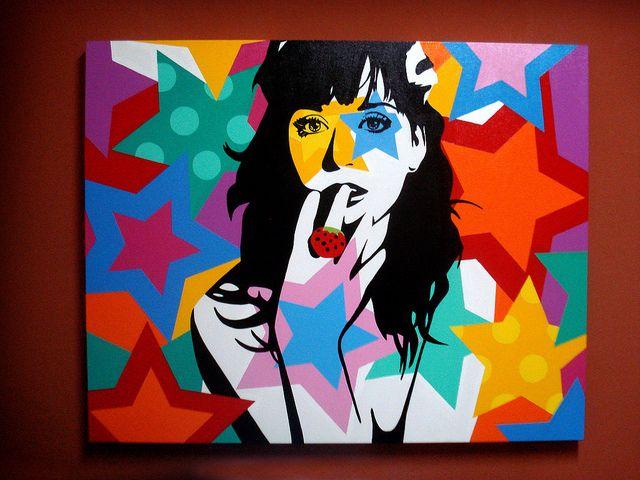 Katy Perry | 80X100 | Pop Art by Lobo - Pop Art, via Flickr