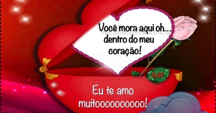 Eu Te Amo Muitoooooooooo Te Amo Mensagem Pro Meu Amor