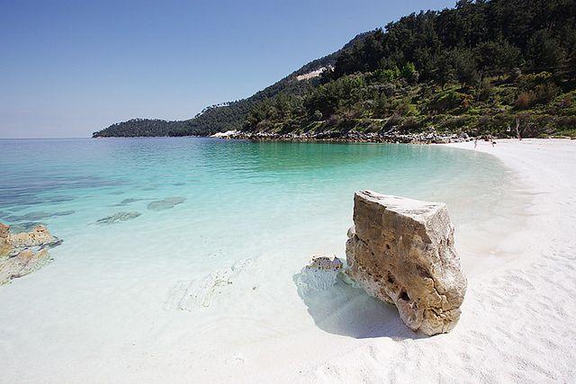 Porto Vathy Marble Beach Nerede Marble Beach Thassos