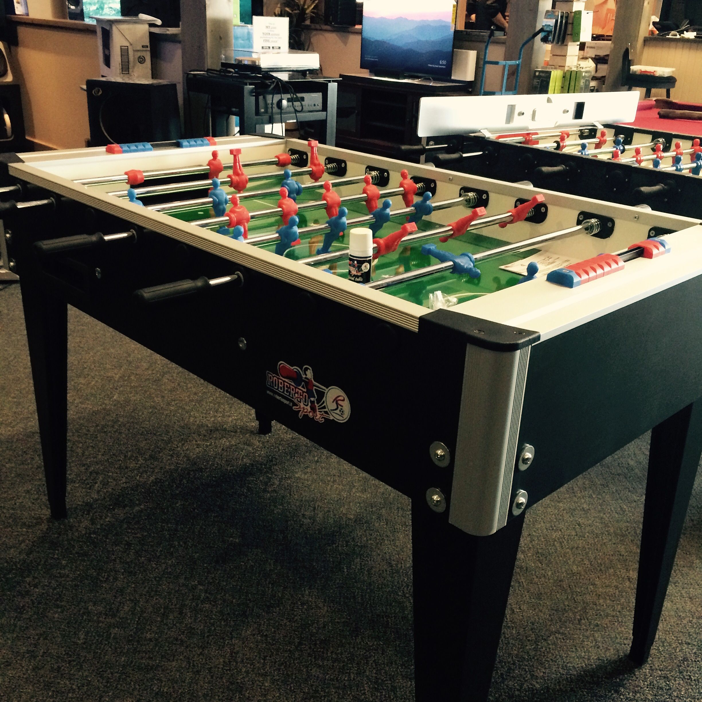 Foosball Table Available In Many Variations Foosball Table