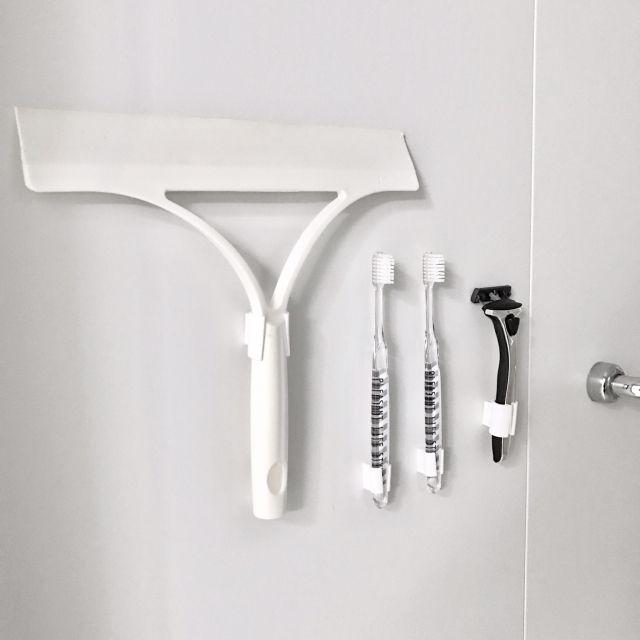 浮かせる収納はいいことばかり マネしたいアイデア集 浴室 収納