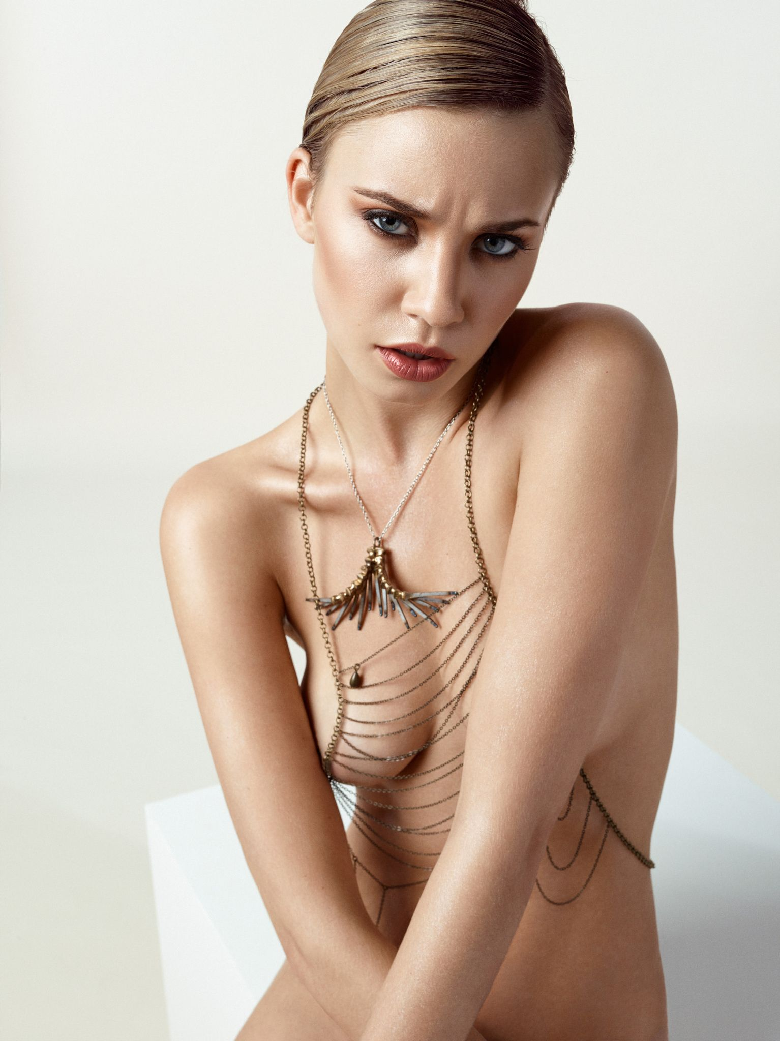 from Thaddeus sexy nude jewellery models