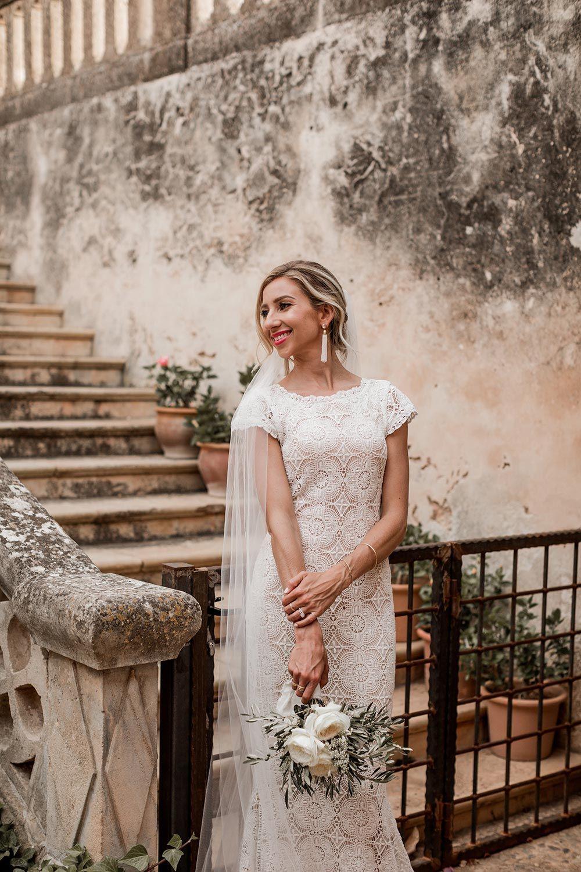 Exotic destination mallorca wedding at a th century finca i do