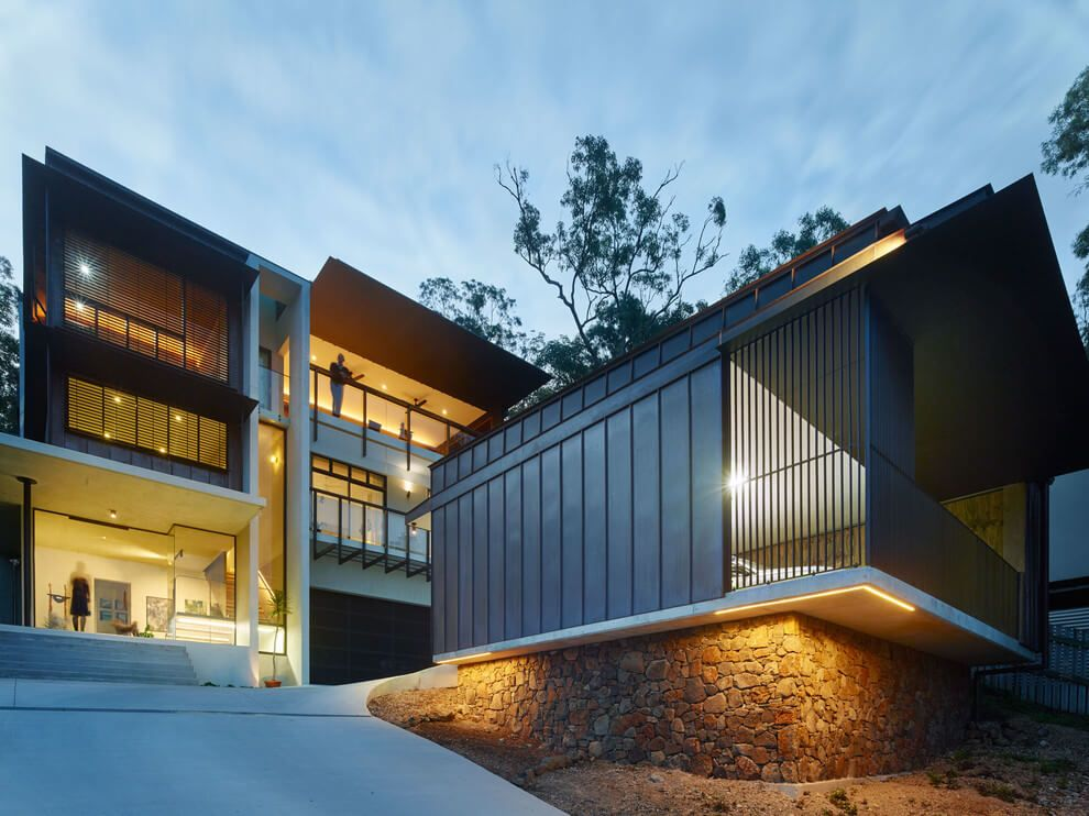 Bardon house by bligh graham architects homeadore also architecture rh pinterest