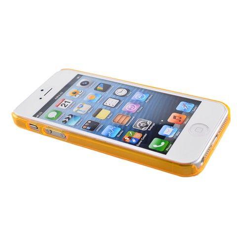 Plastic Bumper Frame Case for iPhone 5 (Orange)