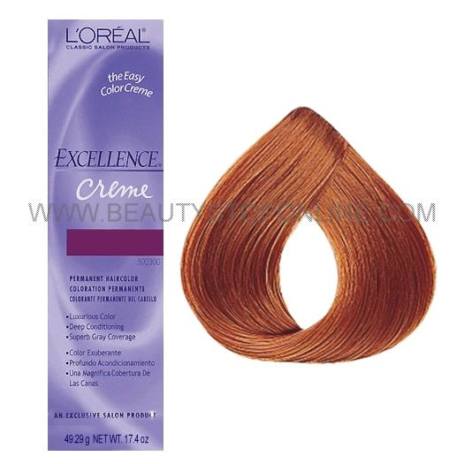 L Oreal Excellence Creme 7 43 Dark Copper Golden Blonde