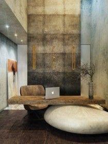 DIY design interior. concrete. floor. Wall. Painting. Xmas ...