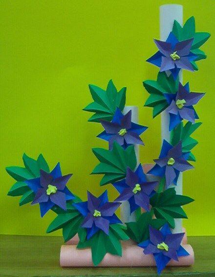 Kwiaty Z Papieru Ikebana Prace Plastyczne Dariusz Zolynski Flowers Paper Paper Flowers Orgiami Kirigam Paper Flowers Diy Paper Flowers Origami Crafts