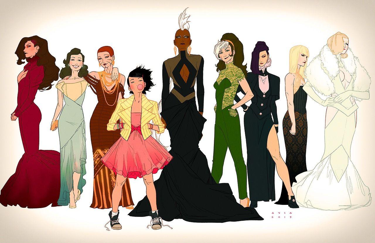 X-Men Prom Dress