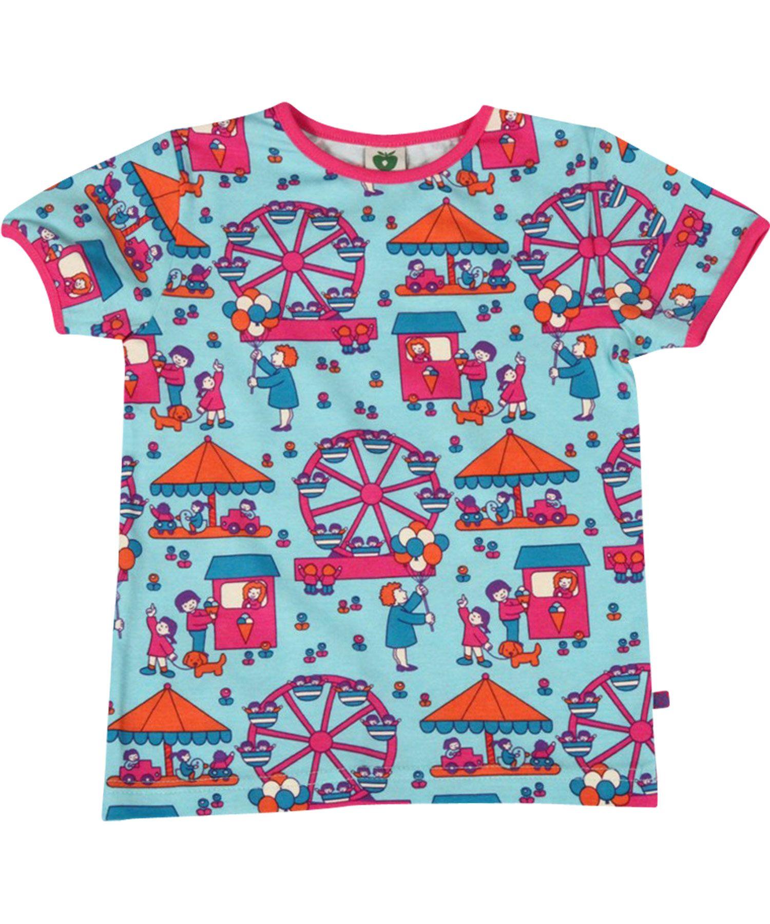 d6eff75f77f45d Småfolk zomerse t-shirt met paardenmolen. smafolk.nl.emilea.be