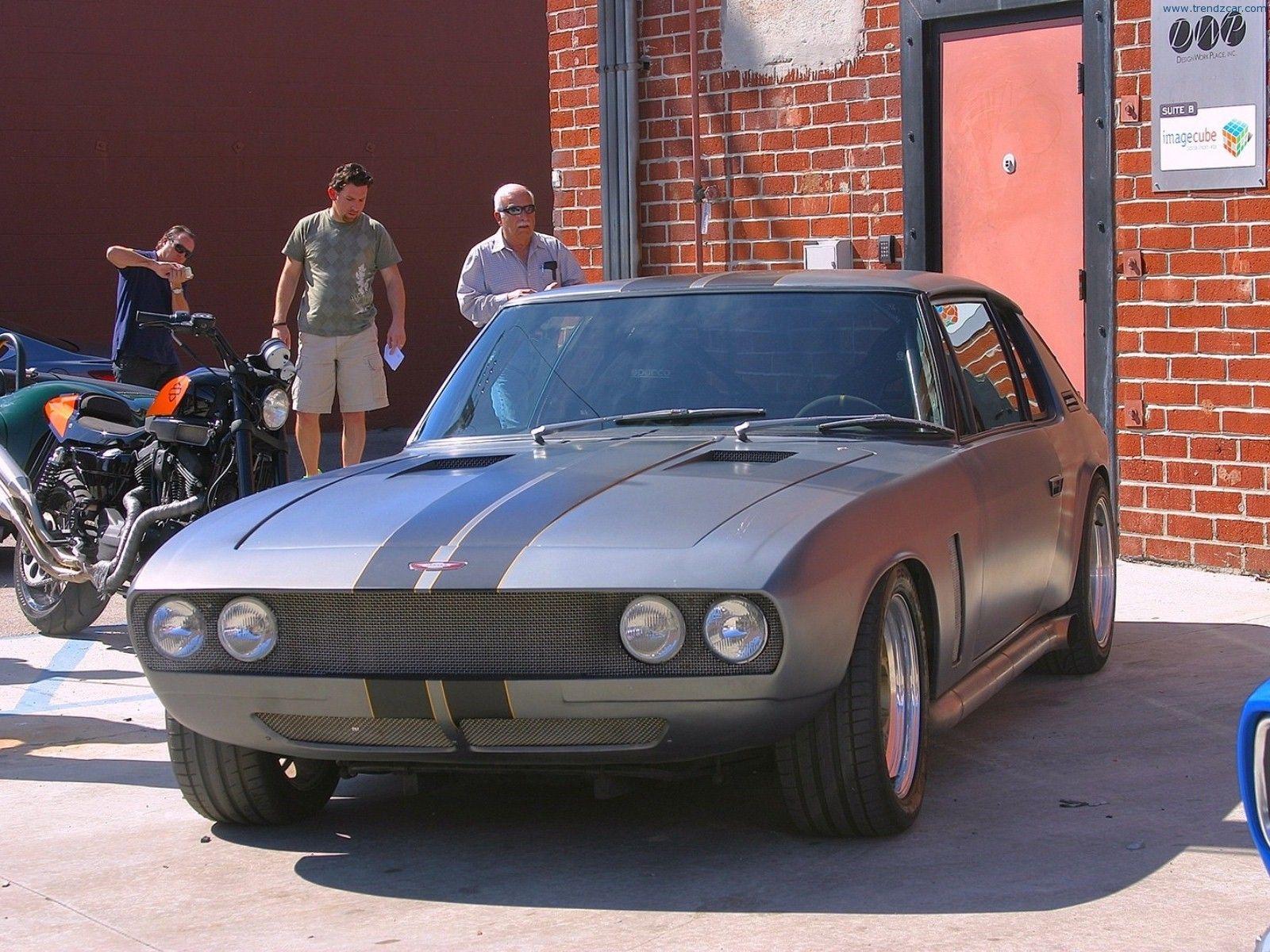1971 Jensen Interceptor Front Angle  Fast  Furious 6 Car  Fast