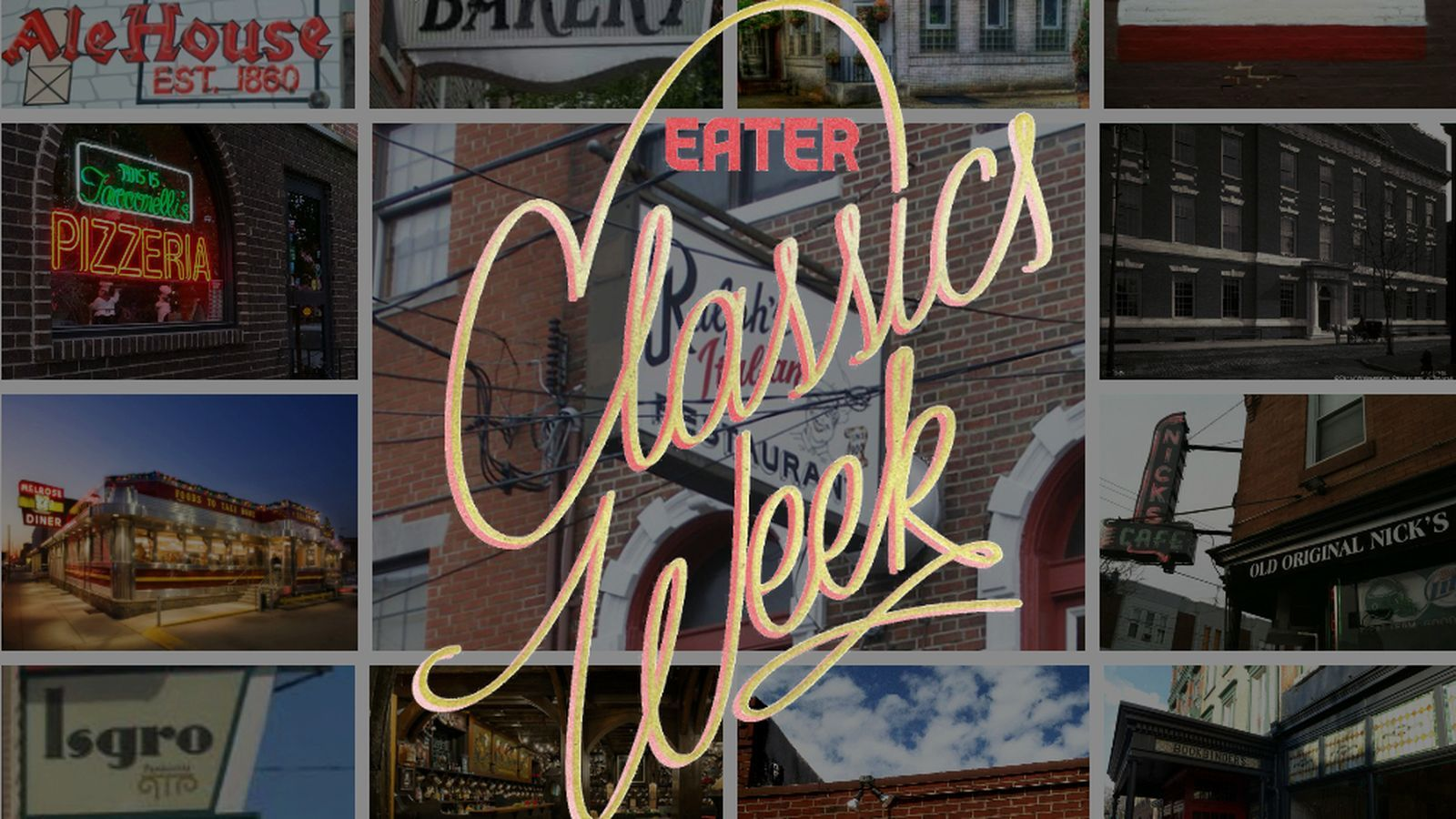 18 Classic Restaurants Every Philadelphian Must Try
