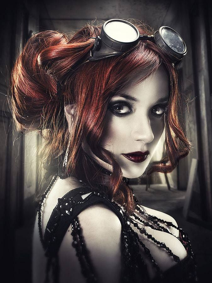 Pin By Andreas Rudloff On Steampunk Steampunk Makeup Steampunk Hairstyles Steampunk Cosplay