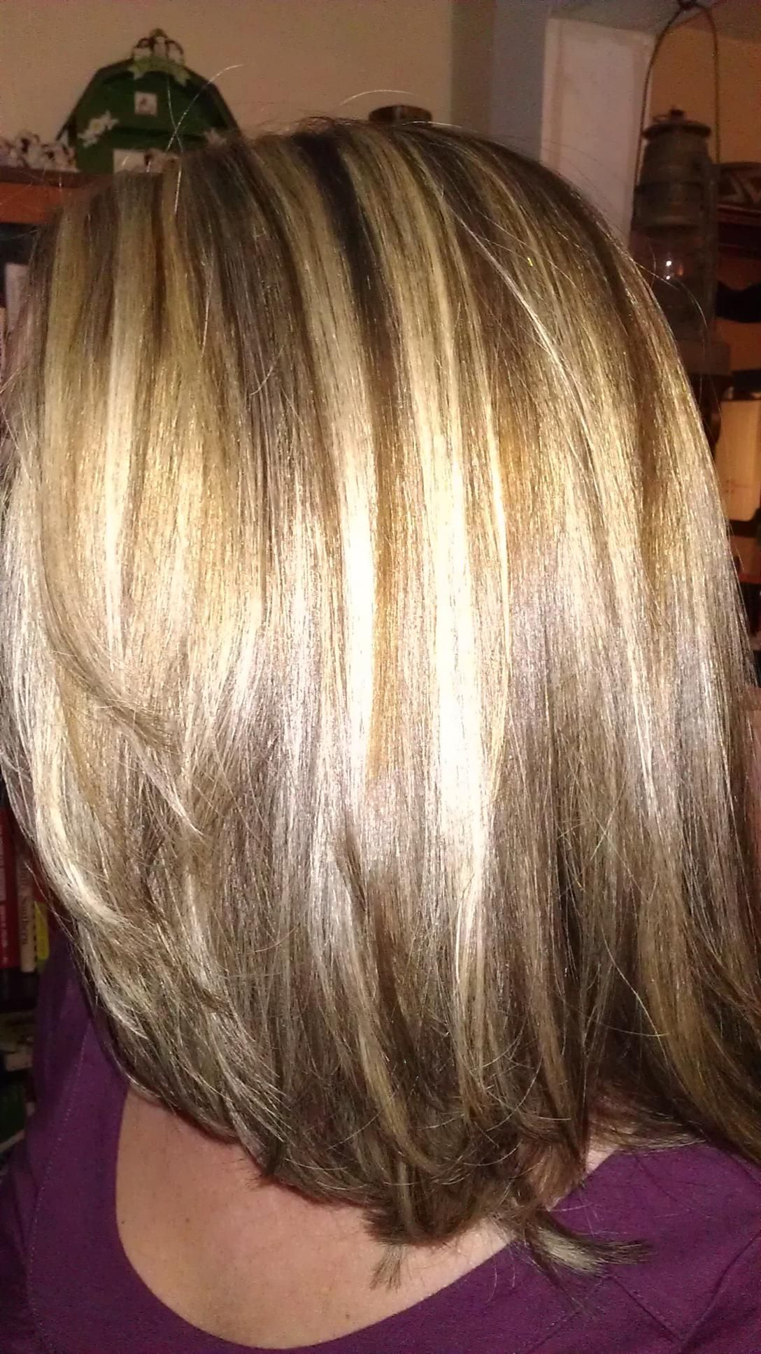 Highlights and lowlights | Hair | Gray hair highlights ...