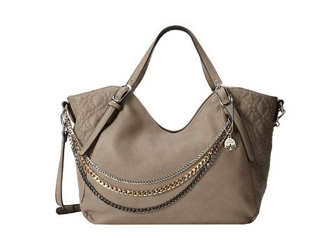 Big Buddha Daytona (Taupe) Satchel Handbags