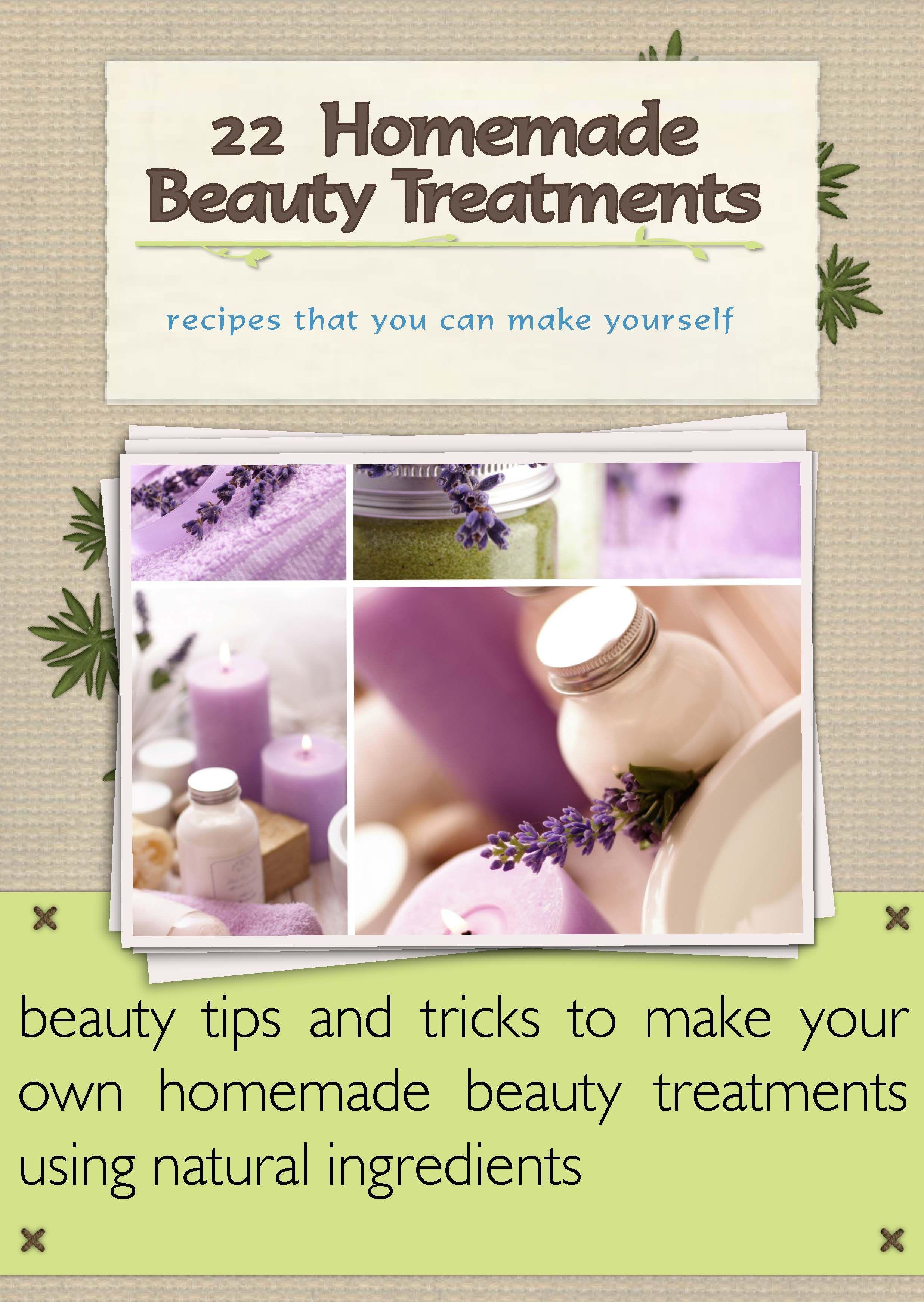 Homemade beauty treatments recipes Homemade beauty