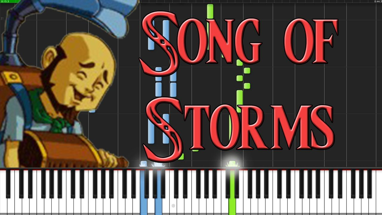 Song of Storms - The Legend of Zelda: Ocarina of Time [Piano