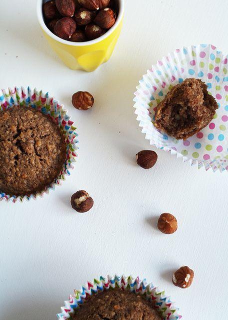 Nutella-Nana (banana) Muffins | The Gluten Free Scallywag