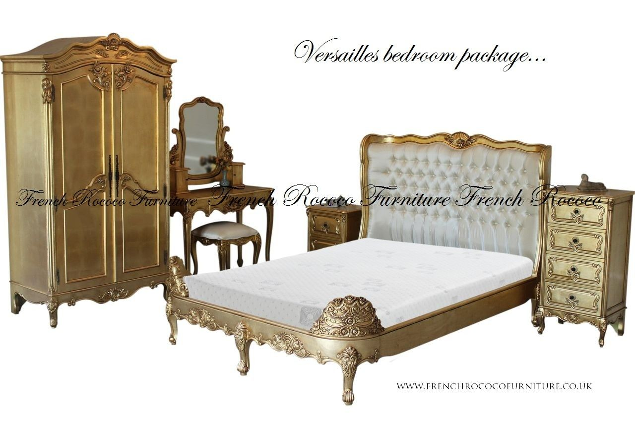 Versaillesfrenchbedroompackage 1280×853  Home  Pinterest Endearing French Bedroom Set Review