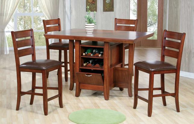 Tall Kitchen Table With Storage  Kitchen Table  Pinterest  Tall Simple High Dining Room Table Decorating Inspiration
