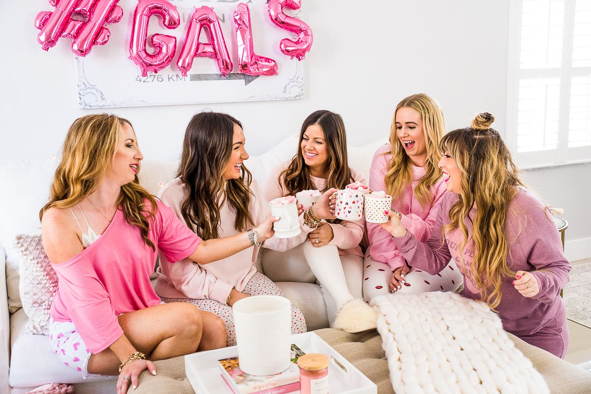 How To Throw A Galentine S Day Party In 2020 Day Party Outfits Galentines Party Galentines