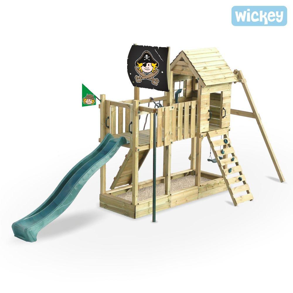 Spielturm Wickey Captain Hook S Ship Piratenschiff Aus Holz Spielturm Turm Spielturm Garten