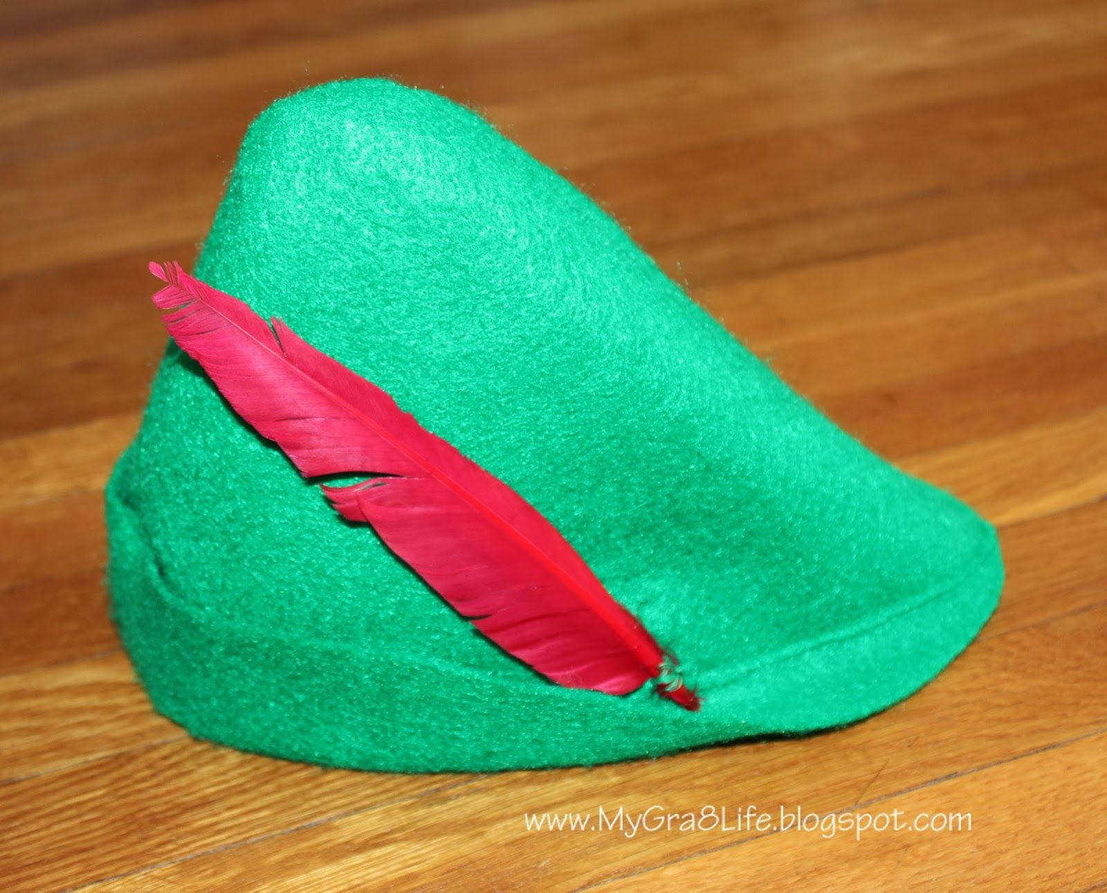 How to Make a Peter Pan Hat photo