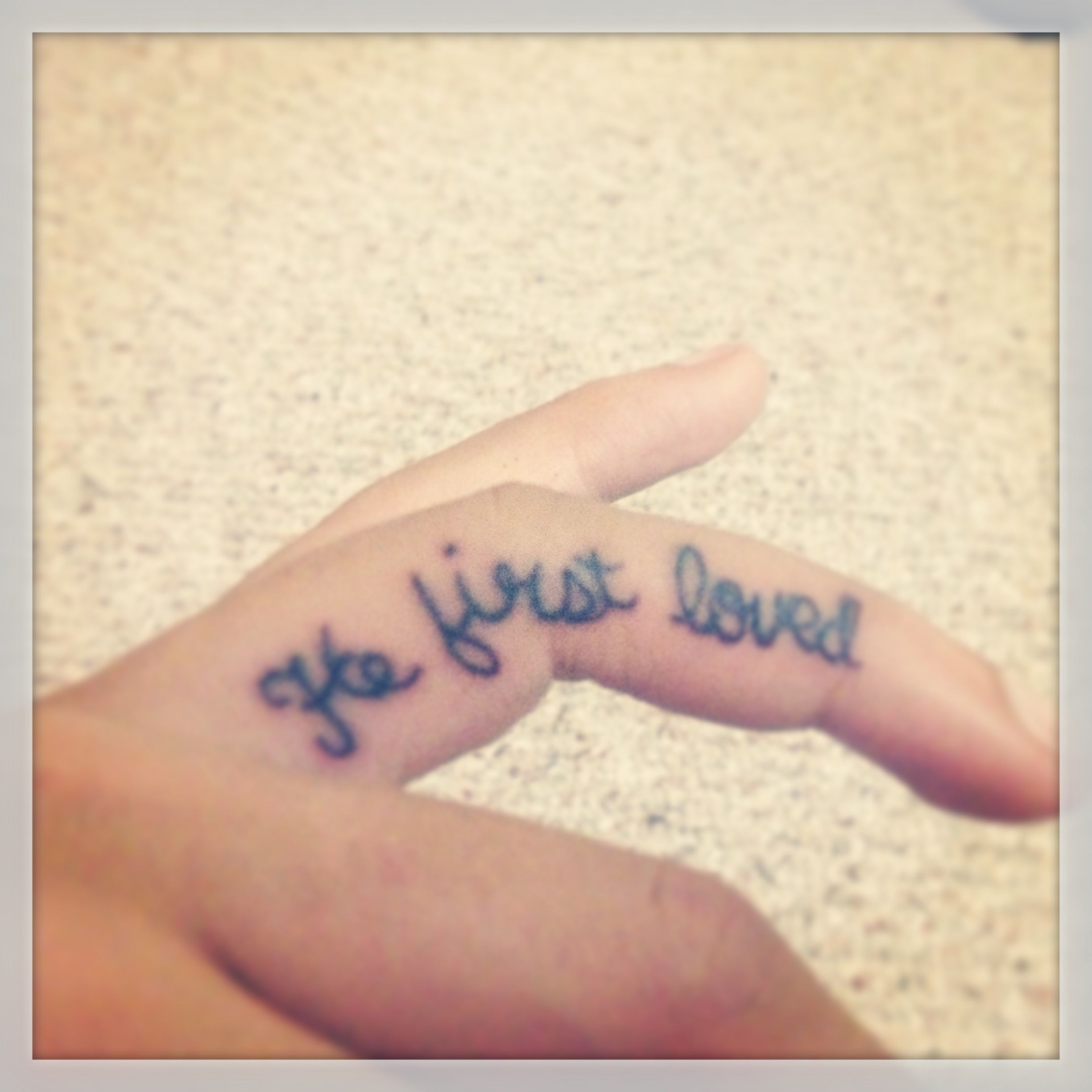 We Love Because He First Loved Us 1 John 914 This Tattoo Is My