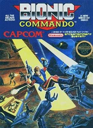 Bionic Commando Nes Games Nintendo Nes Games Classic Video Games